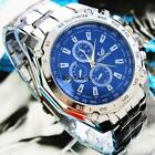 New Military Men's Analog Quartz Sport Army Stainless Steel Wrist Watch Pop 02 image