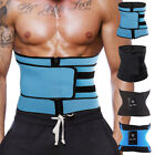 Mens Sport Sauna Sweat Waist Training Belt for Weight Loss Premium Waist Trimmer image