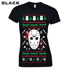 649 Jason Christmas Sweater Womens T-Shirt funny scary gift ugly horror holiday