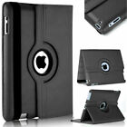 For Apple iPad Air 1 / 2 --360 Rotating Magnetic  Leather Smart Cover Stand Case