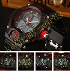 OHSEN Digital Mens G Style Day Date Alarm Sport Watch Quartz Military NEW In Box