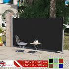 Patio Garden Terrace Side Awning 160/180 x 300 cm 6 Colors Automatic Roll-back