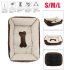 Pet Bed Dog Cat Kennel Soft Cushion Mat Puppy Home Resting Sleeping Pad S/M/L US