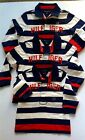 Tommy Hilfiger baby boys  polo shirt  striped rugby top 6-9,9-12,