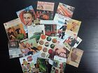 BB22 -- Lot of 17 Vintage Advertisment Poster DIE CUTS for CARD MAKING