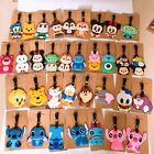 lilo&stitch danald mickey minnie PVC tag luggage tags Baggage Tag brand cute