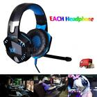 EACH G2000 PC Gaming Headsets 3.5mm Wired Earphone PS4 PC Tablet Headphone C1N4