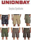 New Men's Unionbay Montego Cargo Shorts with Stretch-Various Sizes and Colors!