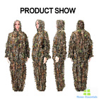 Ghillie Suit Camouflage Leaf Suits Sniper Airsoft Clothing Army Military Clothes