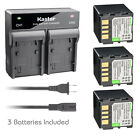 Kastar Battery AC Rapid Charger for JVC BN-VF714 & GR-D395 GR-D395AA GR-D395E
