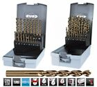 RUKO, HSS, TURBO Drill Bit Set, 3 Way Clamping Surface Shank, please choose SET