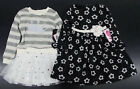 Toddler & Girls Youngland Black Floral Dress Size 2T - 6X