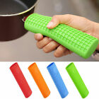 Anti-heat Silicone Pot Pan Handle Cover Saucepan Holder Sleeve Slip Grip Tool QP