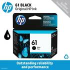 HP 61 Standard Single or Multi-Pack Ink Cartridge (Black or Tri-Color), EXP 2019