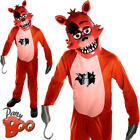 Foxy Boys Fancy Dress Halloween Five Nights at Freddys Kids Childs Costume New