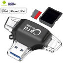 4 IN 1 Type C Memory Card Reader,USB 3.1OTG Micro SD Adapter For iPhone iPad MY