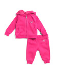 True Religion Infant Girl's Outfit Hoodie Sweatsuit baby girls Toddler