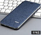 For Huawei Mate 20x/Pro Mofi Flip Silk PU Leather Cover Fashion Stand Soft Case