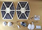 VINTAGE STAR WARS WHITE TIE FIGHTER PARTS KENNER strut wing cockpit window part $3.99 USD on eBay