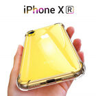 For iPhone 12 Pro Max 11 XR XS X 8 Shockproof Silicone Protect Clear Case Cover