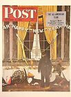 VTG Norman Rockwell Art Print Saturday Evening Post AFTER THE HOLIDAYS * VARIETY