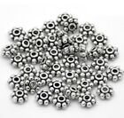 4mm Antique Daisy Spacers Metal Beads Tone Crimps Jewellery Making Findings