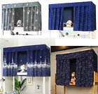 Students Thin Dormitory Bunk Bed Curtain Lightproof Dustproof 50% Light Shading