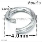 stainless steel split ring Wholesale jump ring jewelry making accessories 3-9mm