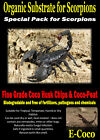 SCORPION BEDDING, SUBSTRATE, SOIL FOR SCORPIONS SUBSTRATE EMPEROR SCORPION