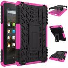 Rubber Shockproof Hard Stand Holder Case Cover For Amazon Kindle Fire HD7 Tablet