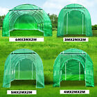 Used, 4 Size Fully Galvanised Steel Frame Poly Tunnel Greenhouse Polytunnel Tunnel for sale  United Kingdom