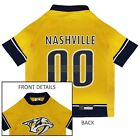 Nashville Predators NHL Pets First Licensed Dog Pet Hockey Jersey Sizes XS-XL $35.66 USD on eBay