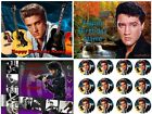EDIBLE CAKE TOPPER ELVIS PRESLEY ICING IMAGE SUGAR SHEET IMAGE PARTY CUPCAKES