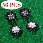 Golf Soft Spikes Replacement Fast Twist Shoe Spikes Black For Footjoy