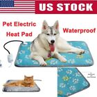 Premium Waterproof Pet Dog Warm Electric Heat Heating Heater Pad Mat Blanket Bed