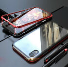 Phone Case For iPhone X XR XS MAX Magneto Magnetic Adsorption Metal Case