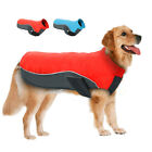 Dog Coat Waterproof Fleece Lined Jacket Clothes Reflective Pet Apparel for Dogs