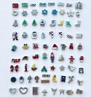 Floating Charm Christmas fits Origami Owl Glass Memory Lockets