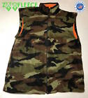 ZooFleece Vest Camo Snow Green Warm Hunting Camouflage Thermal Gift For Him