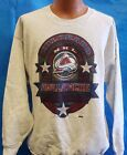 New! VINTAGE NHL Colorado Avalanche Screen Printed Sweatshirt $24.95 USD on eBay