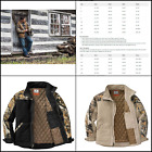 Legendary Whitetail Men's Canvas Cross Trail Big Game Camo Workwear Hooded Jacke