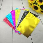 50x Colorful Aluminum Foil Pouch Packing Bag Food Vacuum Bag Heat Seal Home Chic
