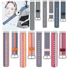 Woven Nylon Wristband Watch Strap Bracelet For Nokia Withing Steel 36MM Watch