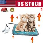 Winter Pet Dog Cat 110V-120V Warm Electric Heating Heater Pad Mat Blanket Bed US