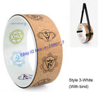 60cm Men Women Cork Yoga Wheel Exercise Fitness Bend Down Pilates Circle Sports