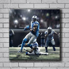 S-75 Detroit Lions Calvin Johnson Sport Star Hot Poster 16x16 24x24 27x27IN $8.09 USD on eBay
