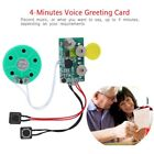 240s Greeting Card Recordable Voice Chip Music Sound Chip Module Musical DIY Lot