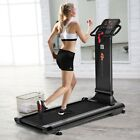 Home GYM 1.5 HP LED Folding Exercise Fitness Running Treadmill with USB MP3 US