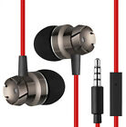 1x In-Ear Earphone Super Bass Headphone Stereo Headset Wired Earbuds With Mic un