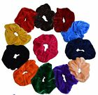 5/10/ 20 Pc/Set Velvet Hairband Elastic Scrunchy Bobble ponytail holder Headwear